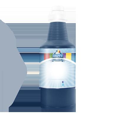 Blue Cotton Candy  Sugar Free Syrup - Quart