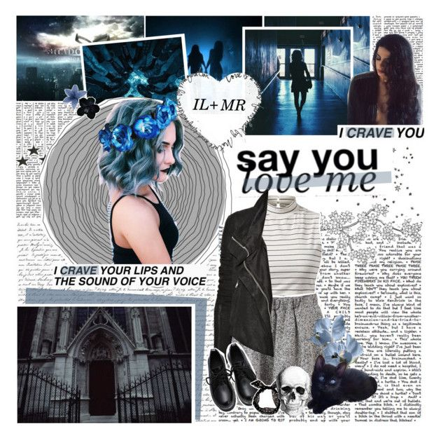 """""""&&. ✦´ cause' i got issues, but you got 'em too. so give 'em all to me, and i'll give mine to you."""" by waywrites ❤ liked on Polyvore featuring Rick Owens and goals"""