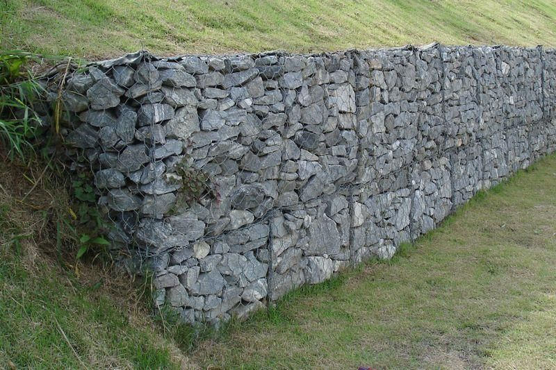 Supply Gabion Retaining Wall Jdx 14 Jdx China Manufacturer Wire Mesh Metallurgy Mining Products Diytrade China Gabionenwand Gabionen Gartenmauern