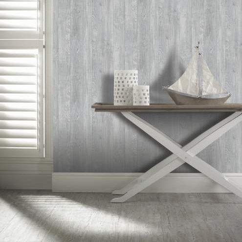 papier peint bois flott d co bord de mer pinterest papier peint bois papier peint et. Black Bedroom Furniture Sets. Home Design Ideas