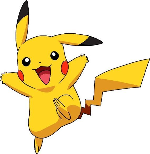 image about Pikachu Printable known as PIKACHU - Pokemon - Immediate Down load - Electronic Printable
