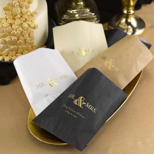 Personalized Foil Treat Bags by Beau-coup