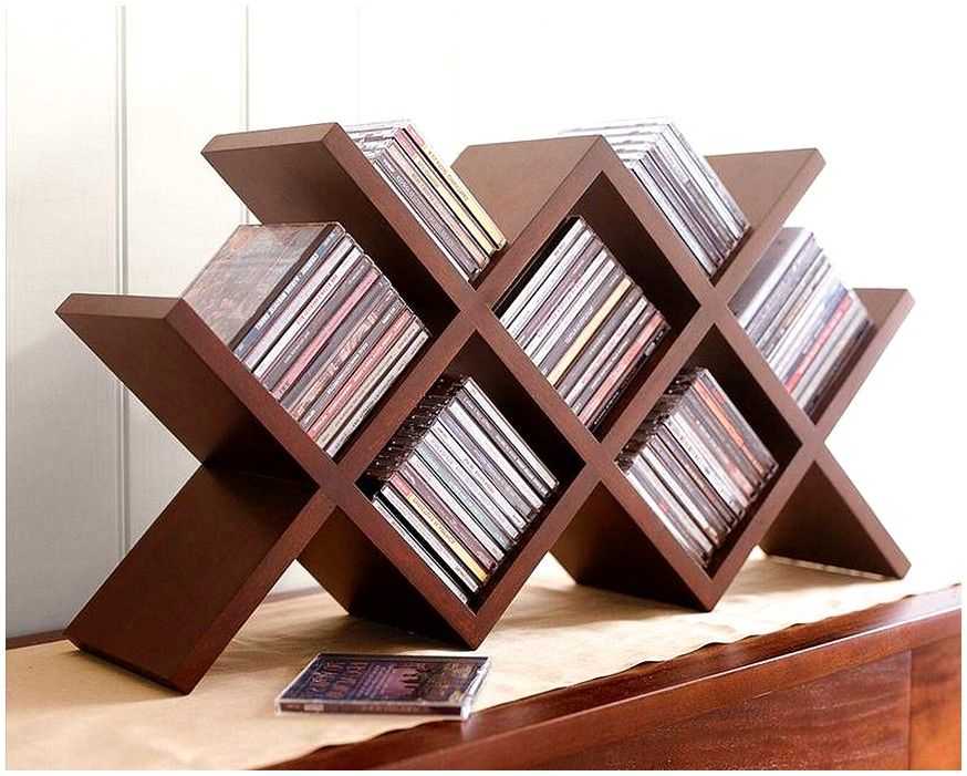 Cd Storage Wooden The Cabinet
