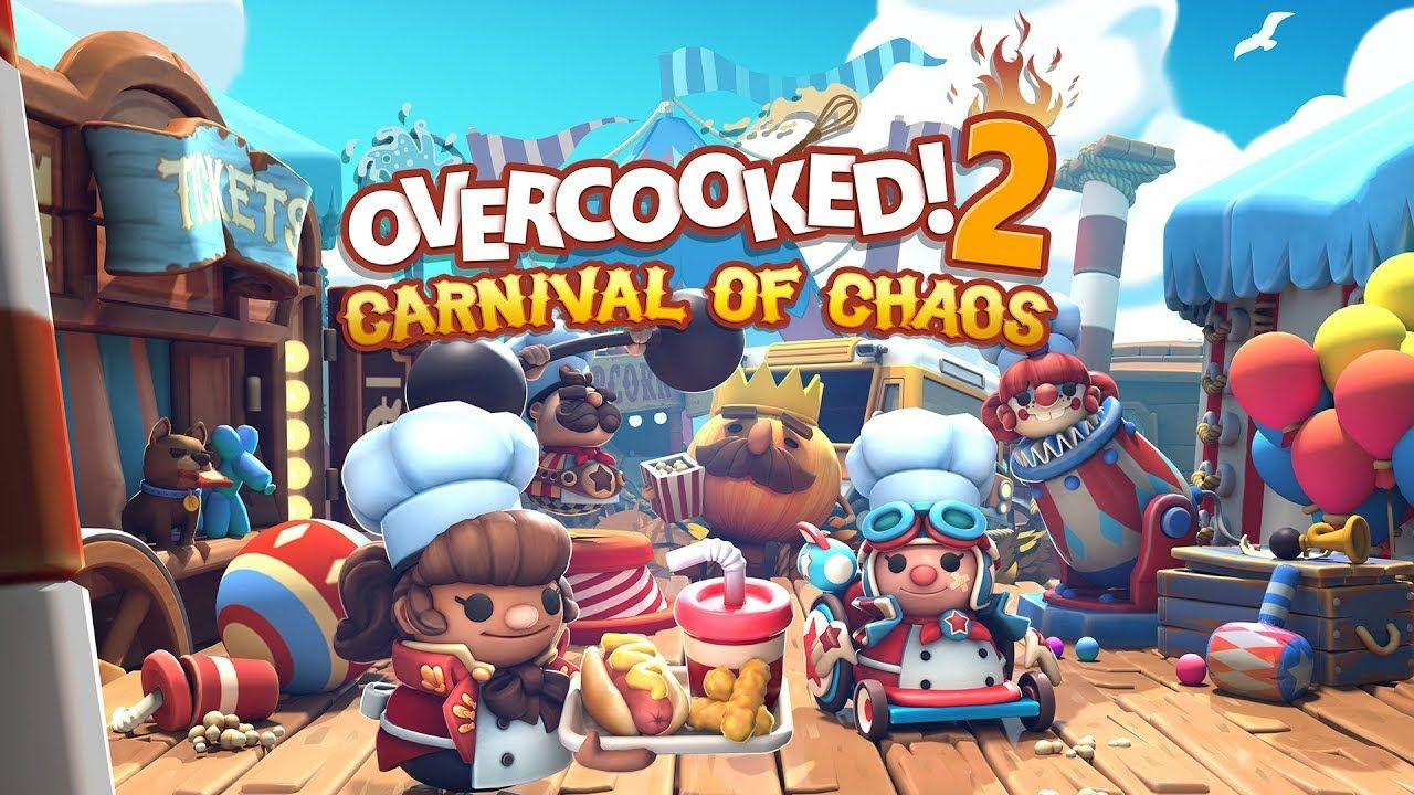 Overcooked! 2 Carnival Of Chaos DLC announced Indie