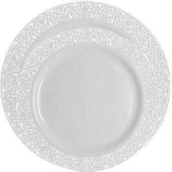 BLUM\u0027S PAPER GOODS - Elegant Dining candles napkins plastic cutlery square plates  sc 1 st  Pinterest & BLUM\u0027S PAPER GOODS - Elegant Dining candles napkins plastic ...