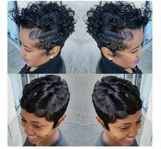 8 Finger Wave Styles Perfect For The Woman That Prefers Short Hair Gallery