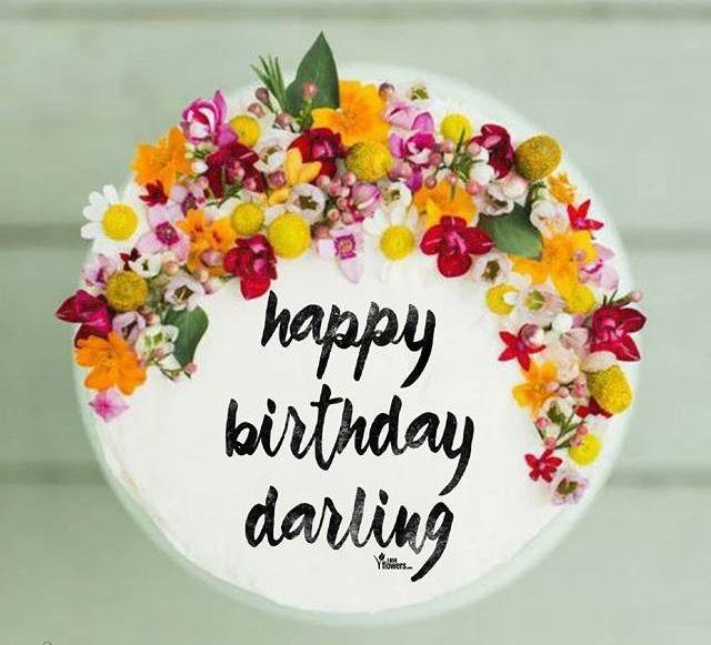 Happy Birthday Darling Greetings Pinterest Happy Birthday