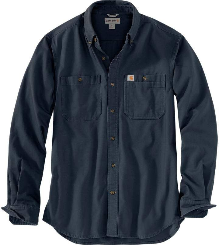 Carhartt Rugged Flex Rigby Long Sleeve Work Shirt Men S Mens Fashion Casual Outfits Mens Outfits Mens Joggers Outfit