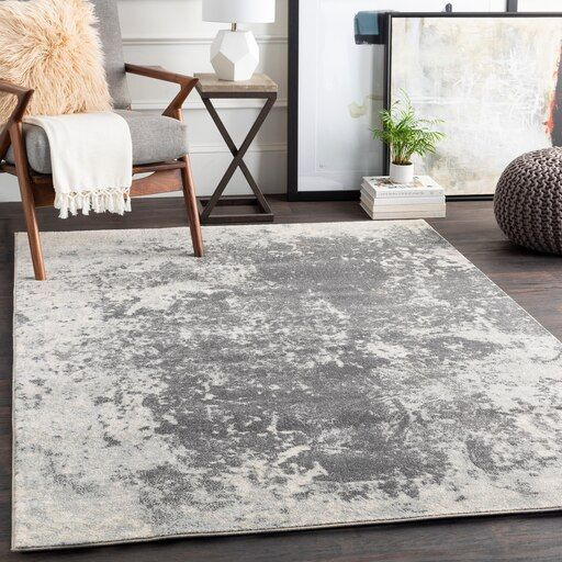 Aberdine Abe 8013 7 10 X 10 6 Rectangle Area Rug Area Rugs Rugs Grey Area Rug