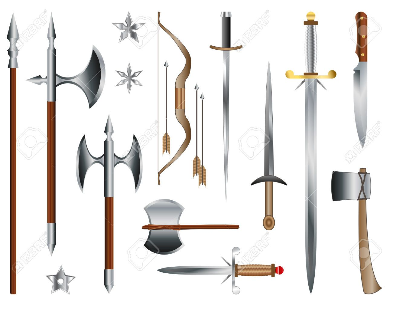 Essay on medieval weapons