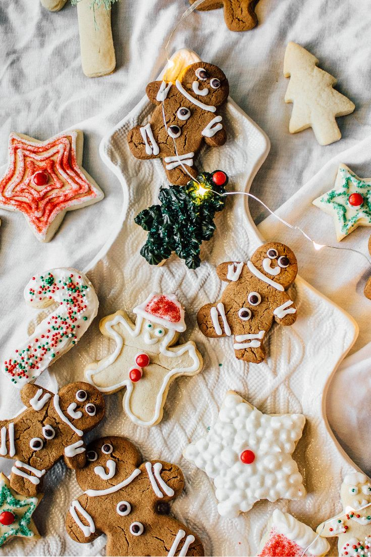 Holiday Cut Out Sugar Cookies Only The Best For The Holidays