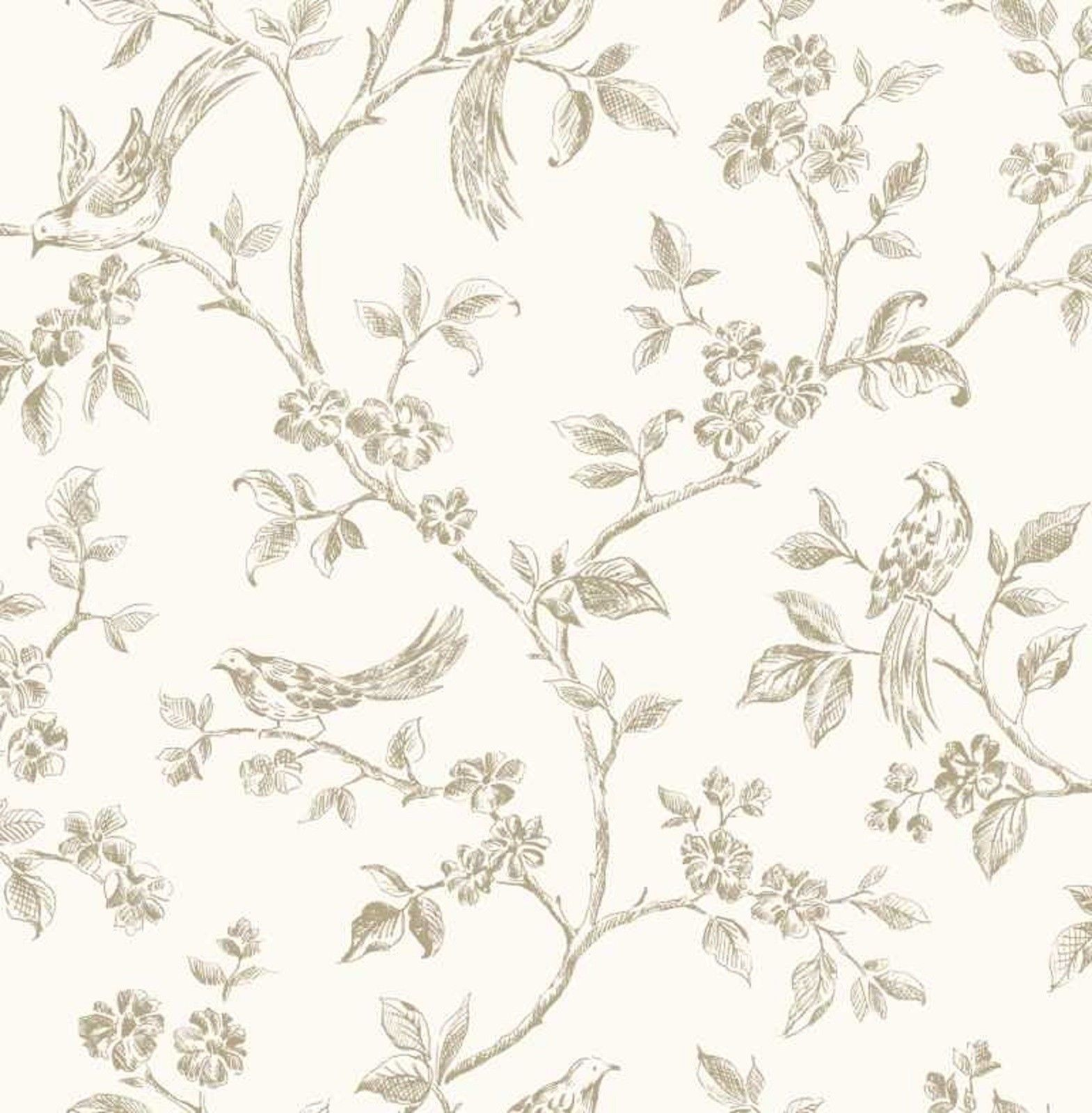Fine Decor  Fd40290  Flower  Birds  Luxury