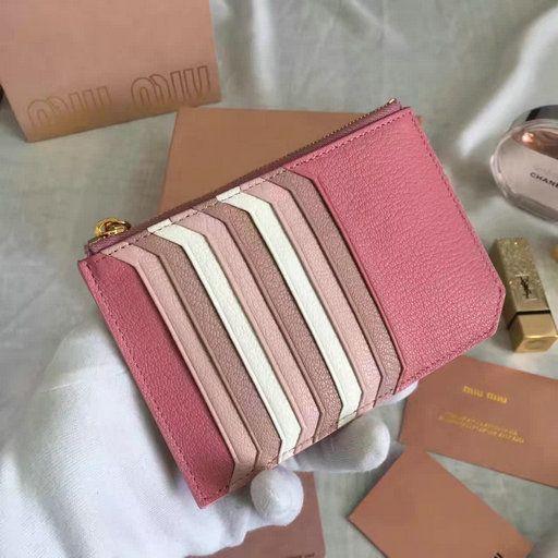 Miu Miu Card Holder Pink