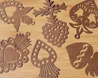 artesania corazones mexicanos - Buscar con Google