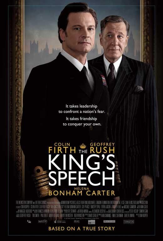 The King S Speech Uk 27x40 Movie Poster 2010 Melhores Filmes