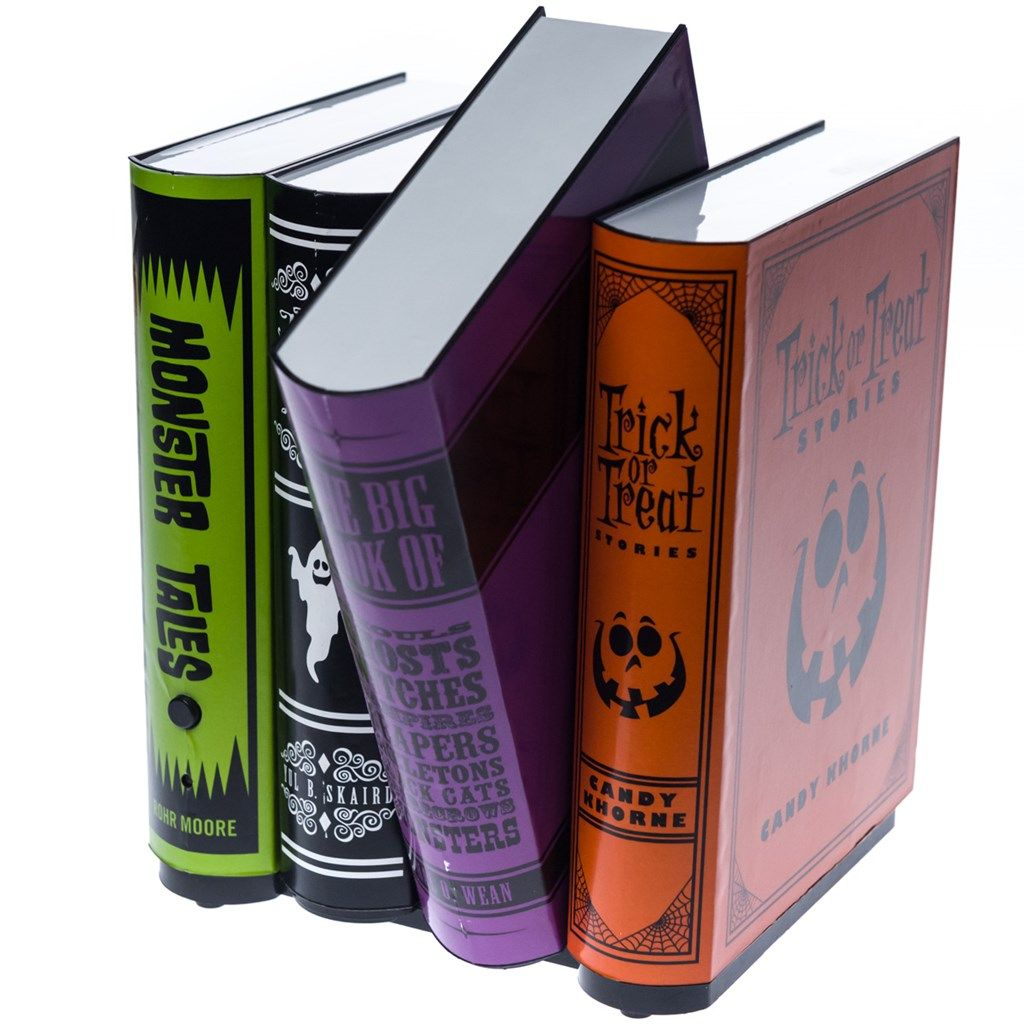 animated spooky books collections halloween cracker barrel old country store