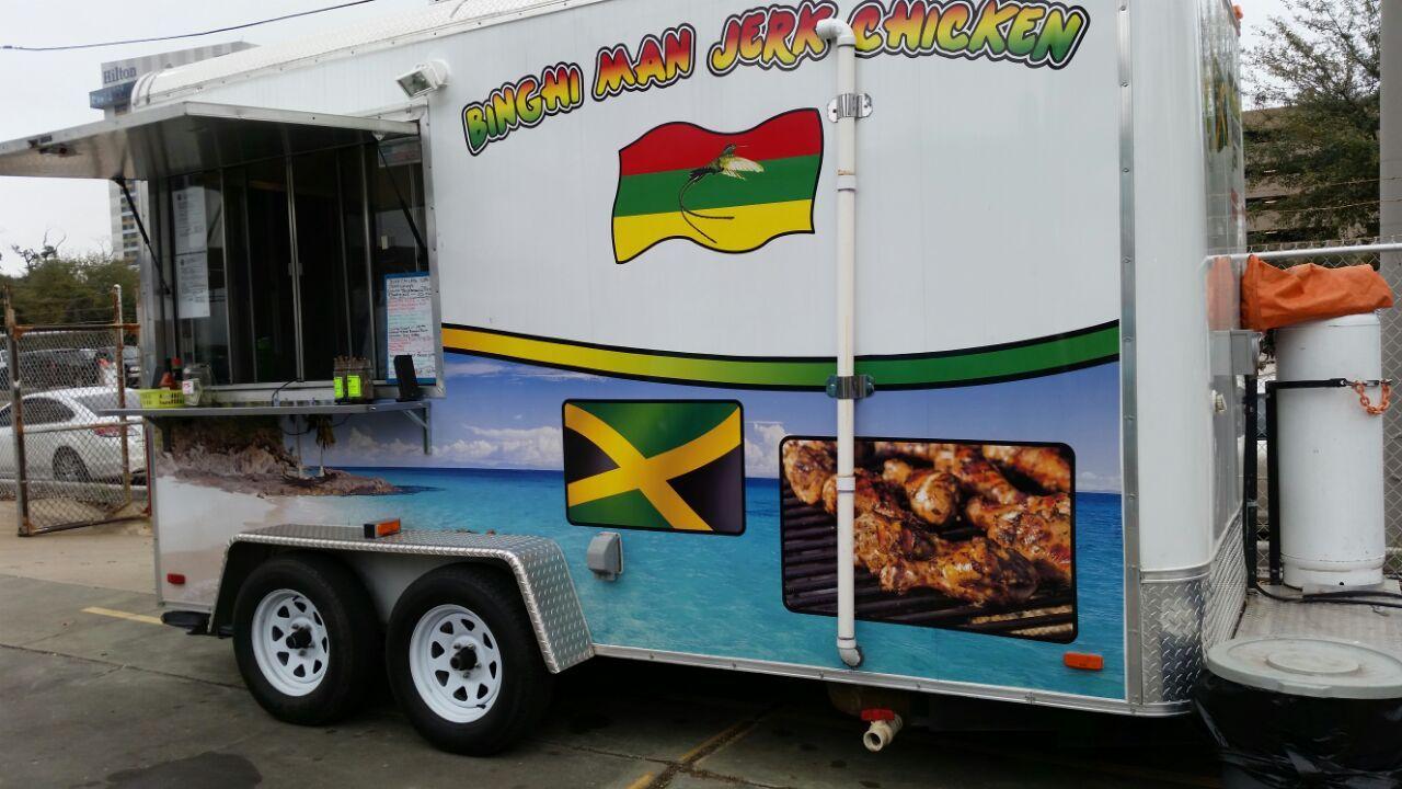 Binghiman jerk chicken houston food trucks best food
