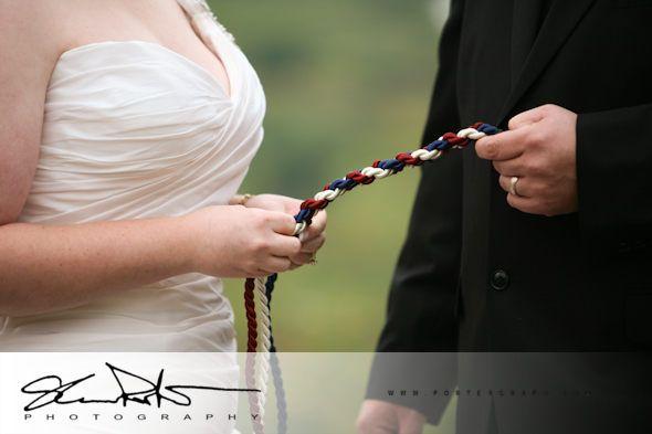 symbolic rope braiding