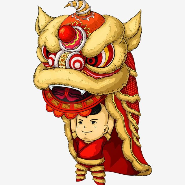 Millions Of Png Images Backgrounds And Vectors For Free Download Pngtree Chinese Lion Dance Vietnam Art Lion Dance