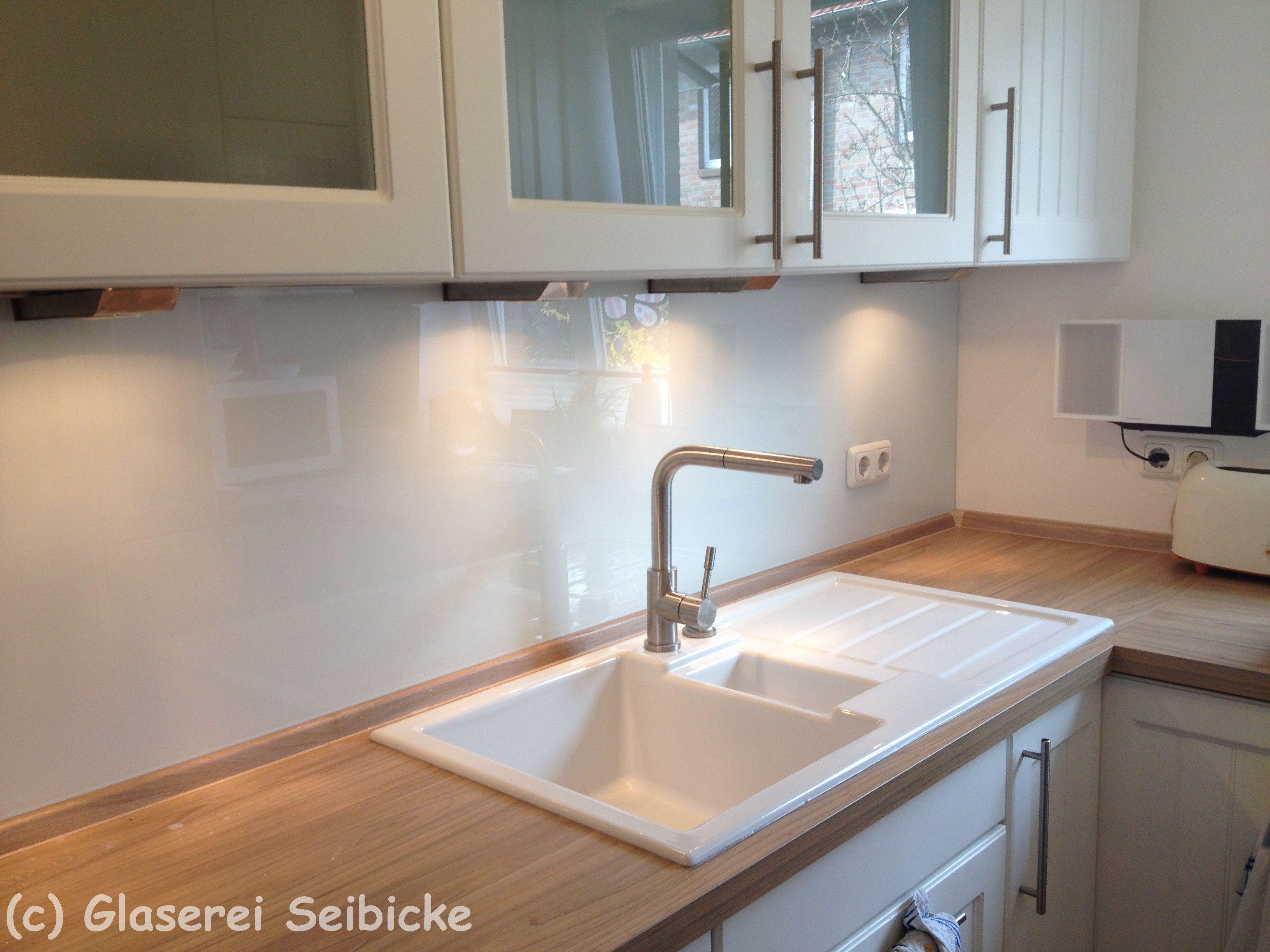 Küchenrückwand Weiß glaserei seibicke hamburg glas küchenrückwand mit glaslack weiß