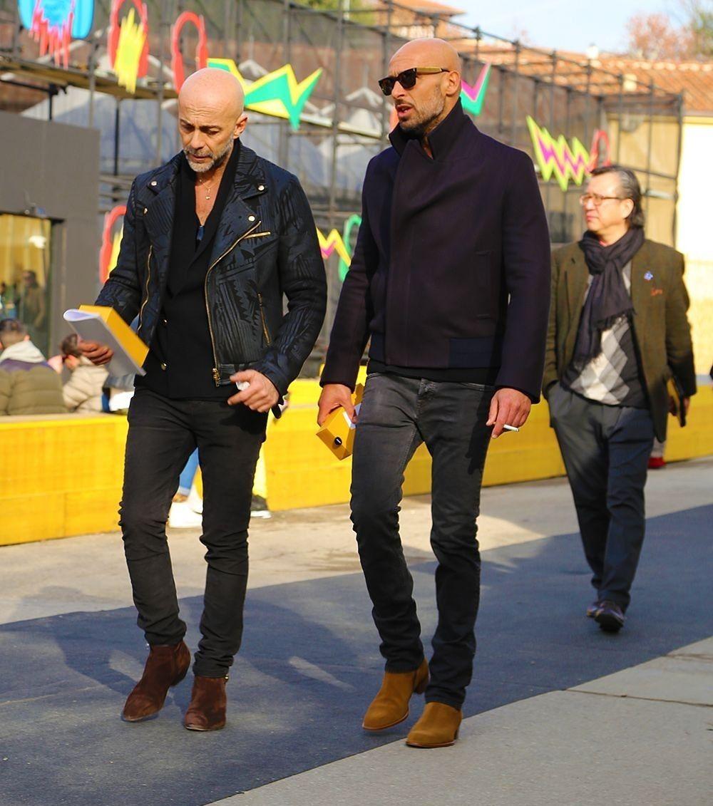 Baldmen Bald Baldmenstyle Baldmenfashion Fashion Manfashion Menfashion Style Menstyle Manstyle Street Bald Men Style Bald Men Handsome Men