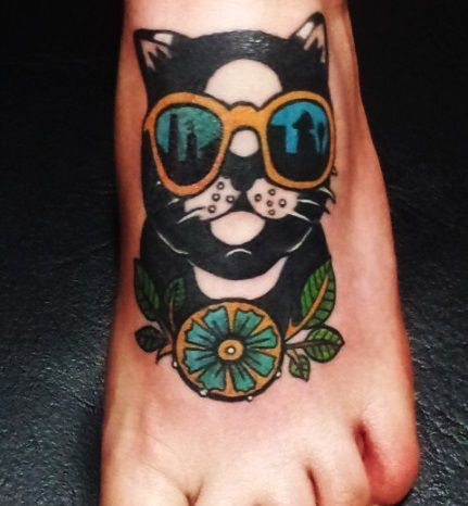 Traditional Cat Tattoos cat tattoo images & designs