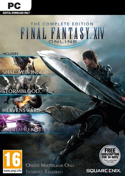 Final Fantasy Xiv 14 Online Complete Edition Inc Shadowbringers