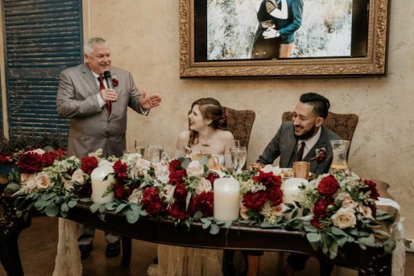 Copper-Inspired Orange County Wedding at The Vintage Rose