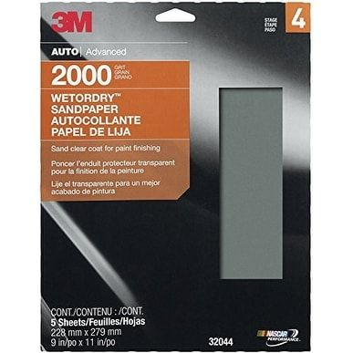 3M Wetordry Sheet 9X11 2000G, Orange Products Pinterest Free