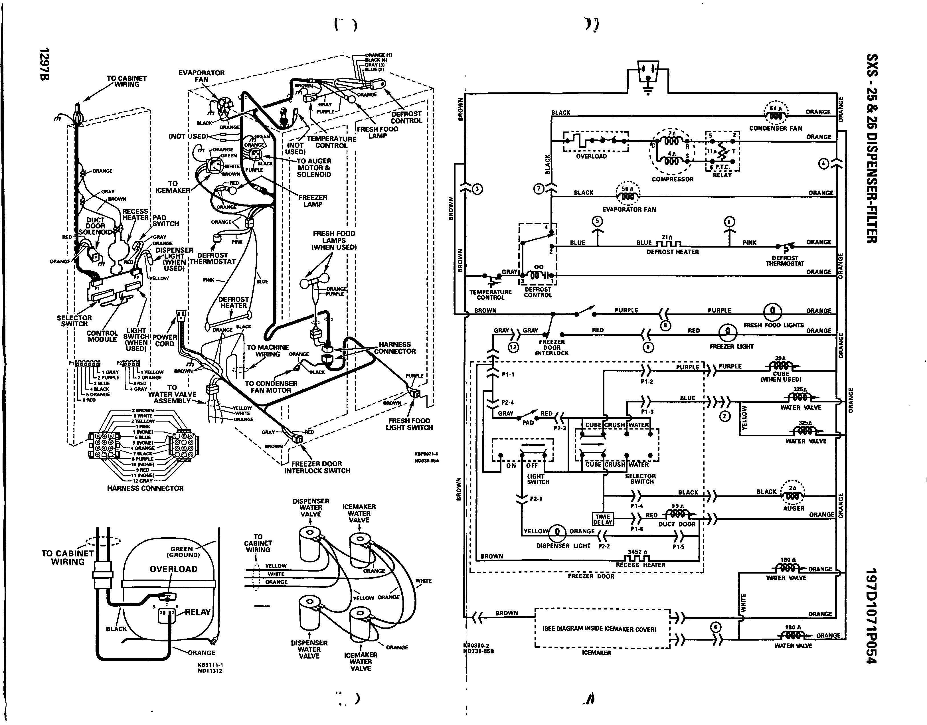 Wiring Diagram For Ge Refrigerator In 2020 Electrical Wiring Diagram Diagram Trailer Wiring Diagram
