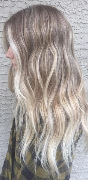 Blonde Highlights With Ashy Tones Color By Michelle Hoyt Hair