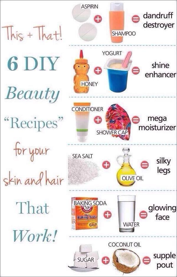 6 Diy Beauty Tips Diy Beauty Recipes Beauty Hacks Beauty Solution