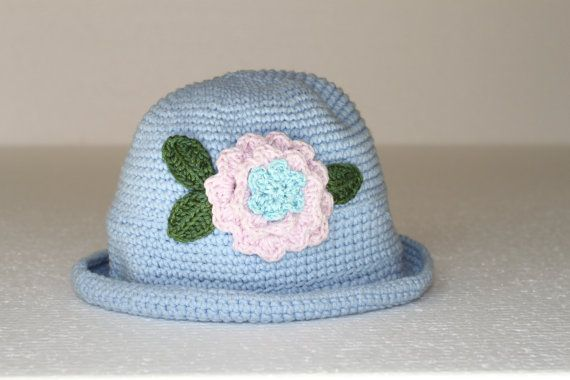 Feeling Blue, Flowers bloom through by Mickey on Etsy