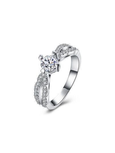 0a1eca726f Faux Diamond Decorated Delicate Ring | Outfits | Rings, Jewelry ...