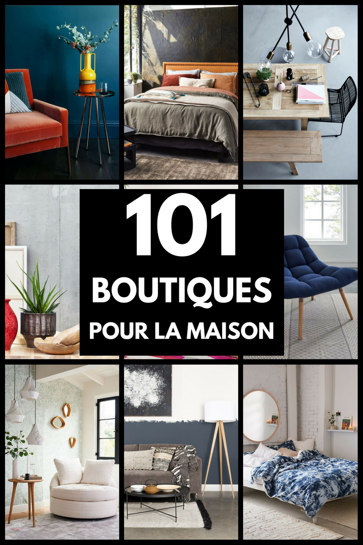 la liste des boutiques à connaître pour la maison | meubles en ... - Decorer Sa Maison Virtuellement Gratuit