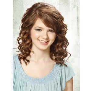 Haircuts For Tween Girls With Curly Hair Girls With