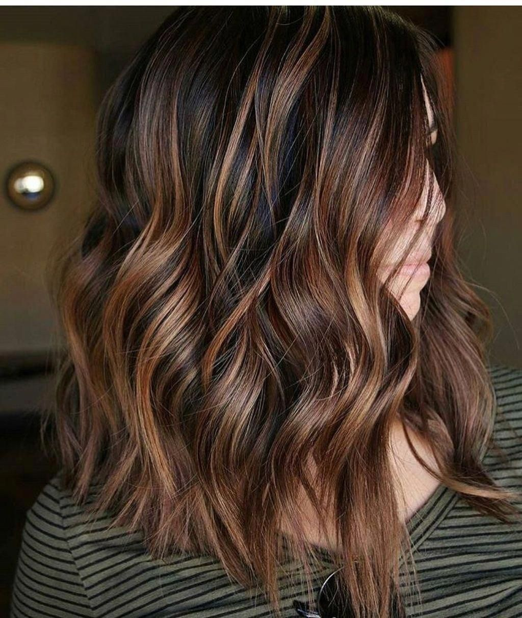 48 Stunning Fall Hair Color Ideas 2018 Trends Addicfashion Haircolorideasforbrunettes Brownha In 2020 Caramel Brown Hair Brown Hair Balayage Brown Hair Color Chart