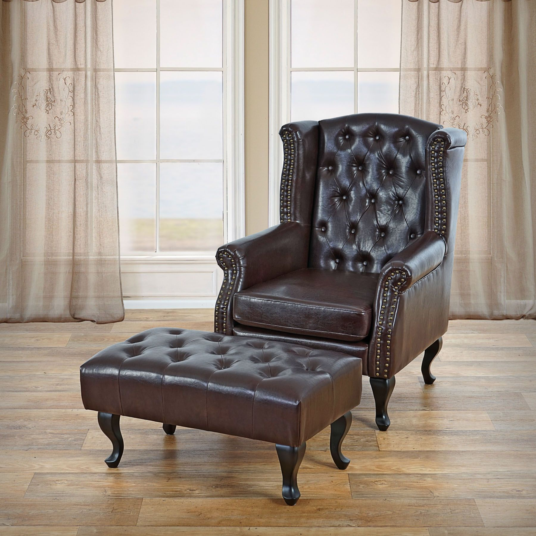 Chesterfield Clubsessel Sessel Relaxsessel Clubsessel Ohrensessel Chesterfield Kunstleder