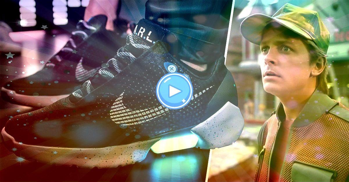 lanza los tenis inspirados en Marty McFly de Volver al Futuro Nike lanza los tenis inspirados en Marty McFly de Volver al Futuro  All custom orders take 15 weeks to be ma...