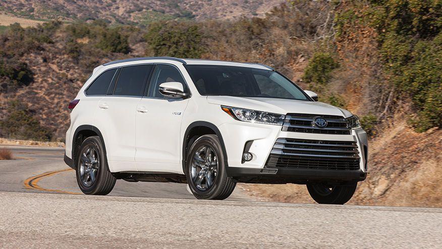 2017 Toyota Highlander Hybrid Test Drive A Big Suv That Delivers Big Mpgs Toyota Highlander Toyota Highlander Hybrid Toyota