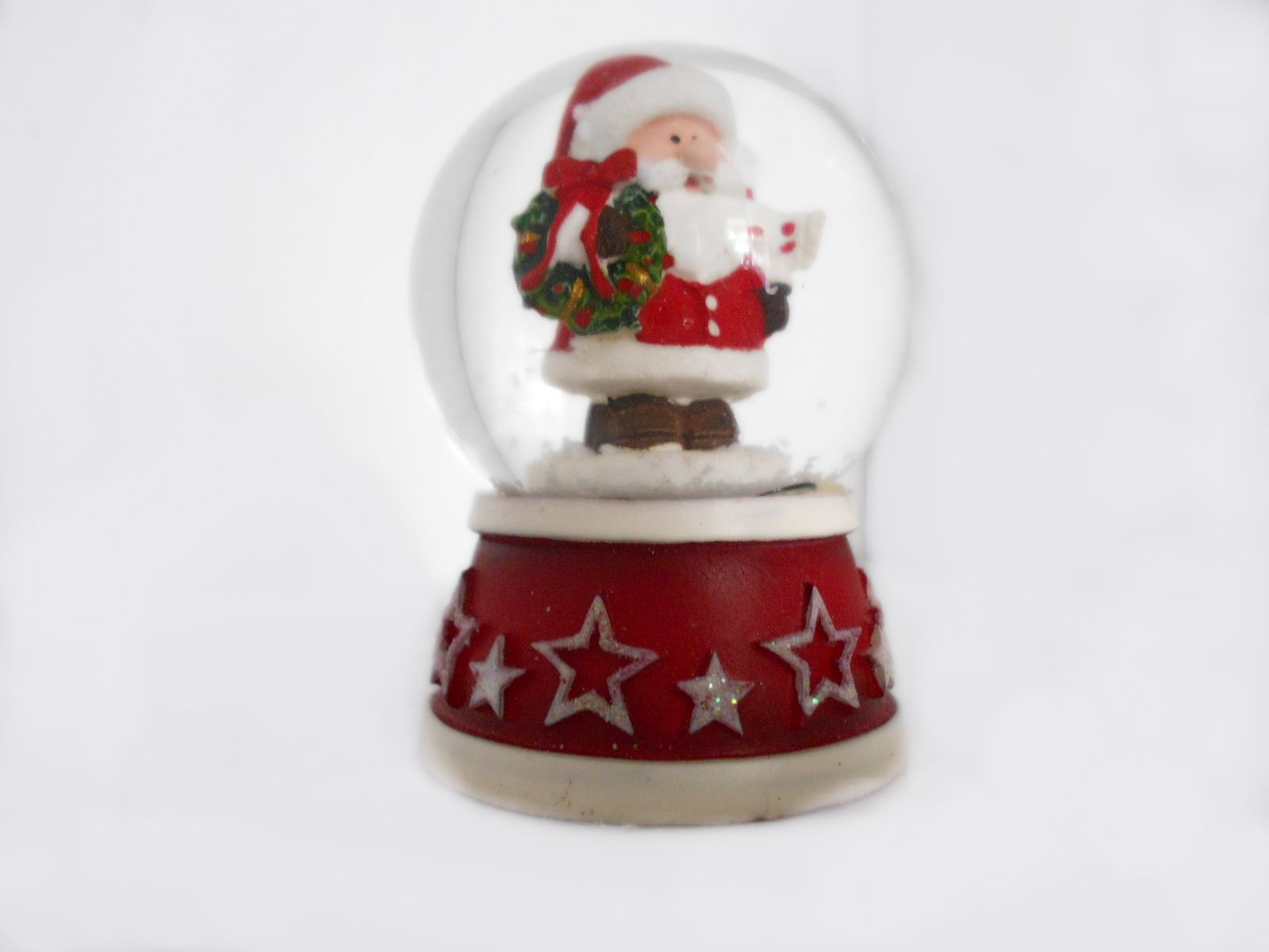 what would Christmas be without a snow globe? These teeny