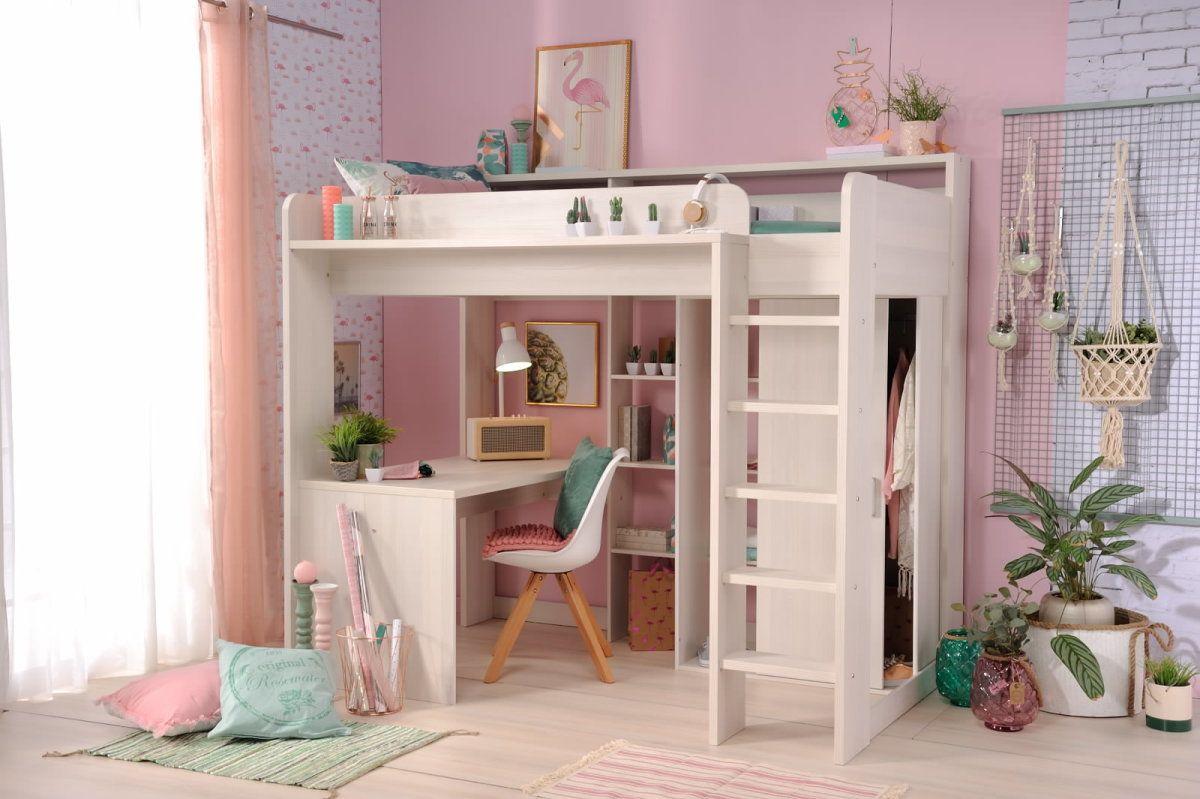 Pin By Carrie Miller On My Home Cambreys Room Ikea Loft Bed