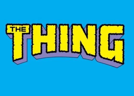 The Thing Comic Book Title Logo The Thing Comic Logos Comic Books