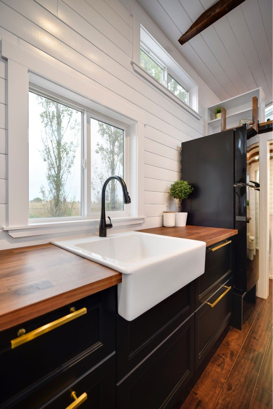 Gorgeous 34ft Tiny House On Wheels For Sale Tiny House For Sale In Marysville Washington Tiny House Listings Tiny House Kitchen Tiny House Listings Tiny Home Office