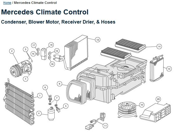 A/C diagnosis and repair with troubleshooting diagrams and