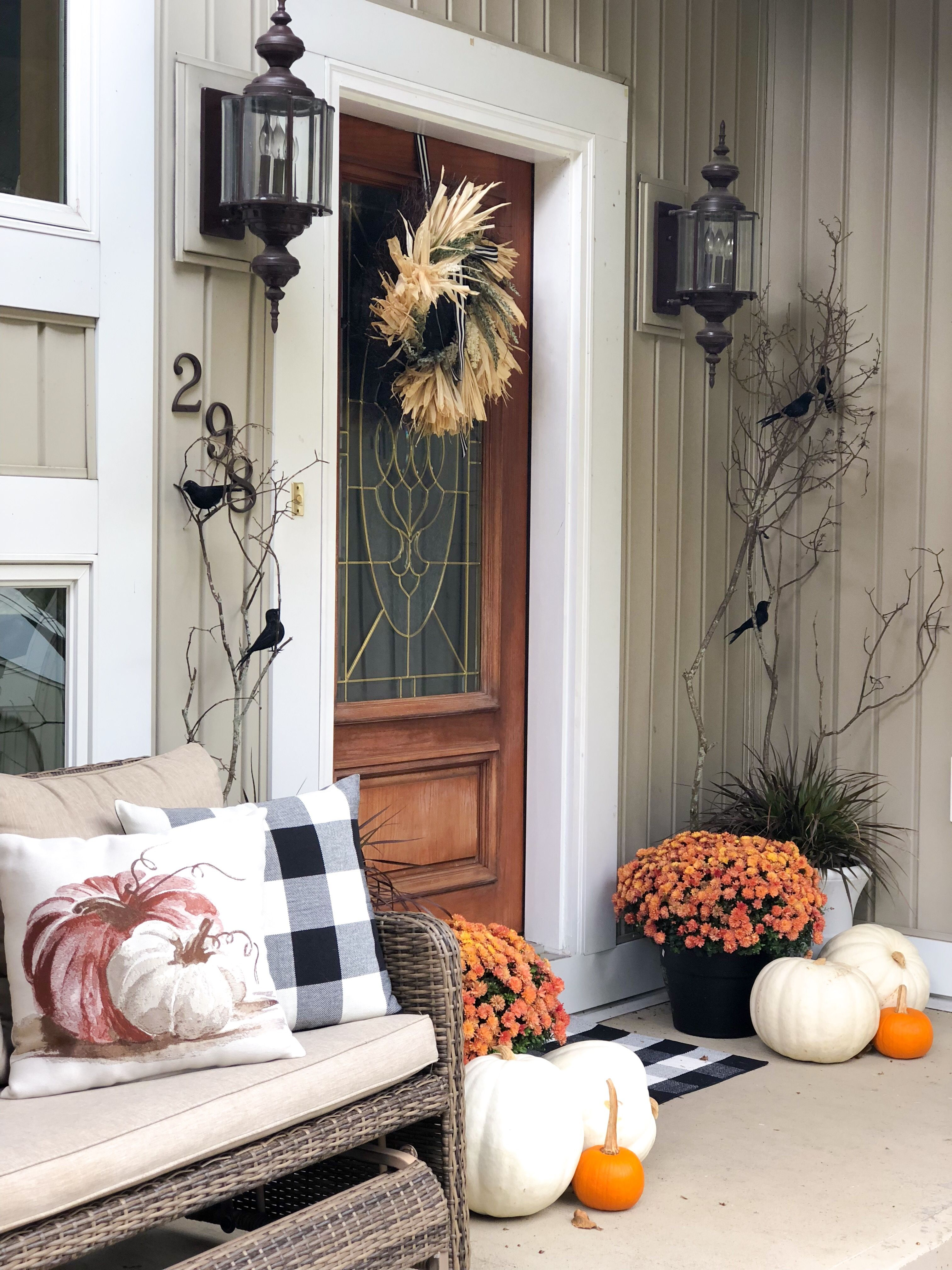 Elegant and Sophisticated Halloween Decor • 29 Design Studio