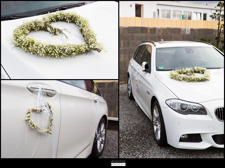 Autoschmuck Hochzeit Team Grun Elzach Bride Groom Car