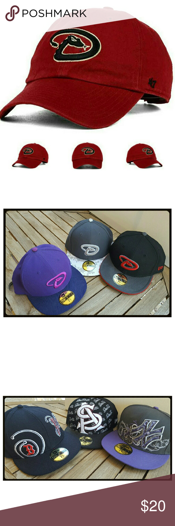 da75b3febbf 59FIFTY® Fitted caps. All lids clean. 20. Each These 59FIFTY® Fitted