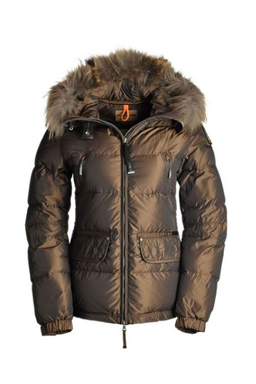 Women's Parajumpers Alaska Jackets Tobacco 66% Off, Cheap On Sale