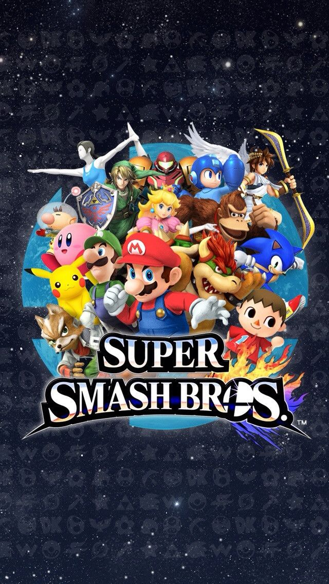 Could Someone Resize This Super Smash Bros Wallpaper For Iphone 4 Super Smash Bros Party Smash Bros Super Smash Bros